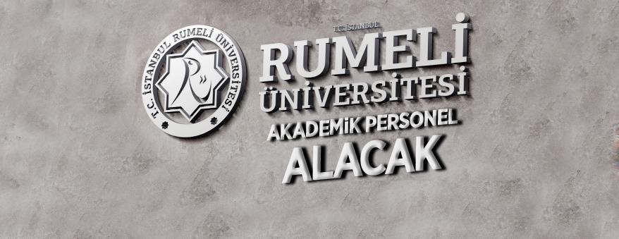 Rumeli Üniversitesi 26 akademik personel alacak