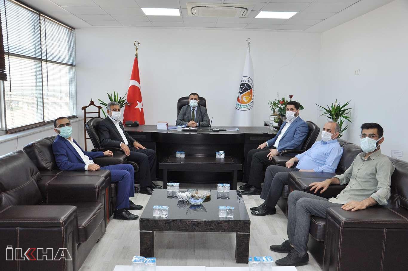 Şahin'den Baro Başkanına 'Hayırlı Olsun' Ziyareti