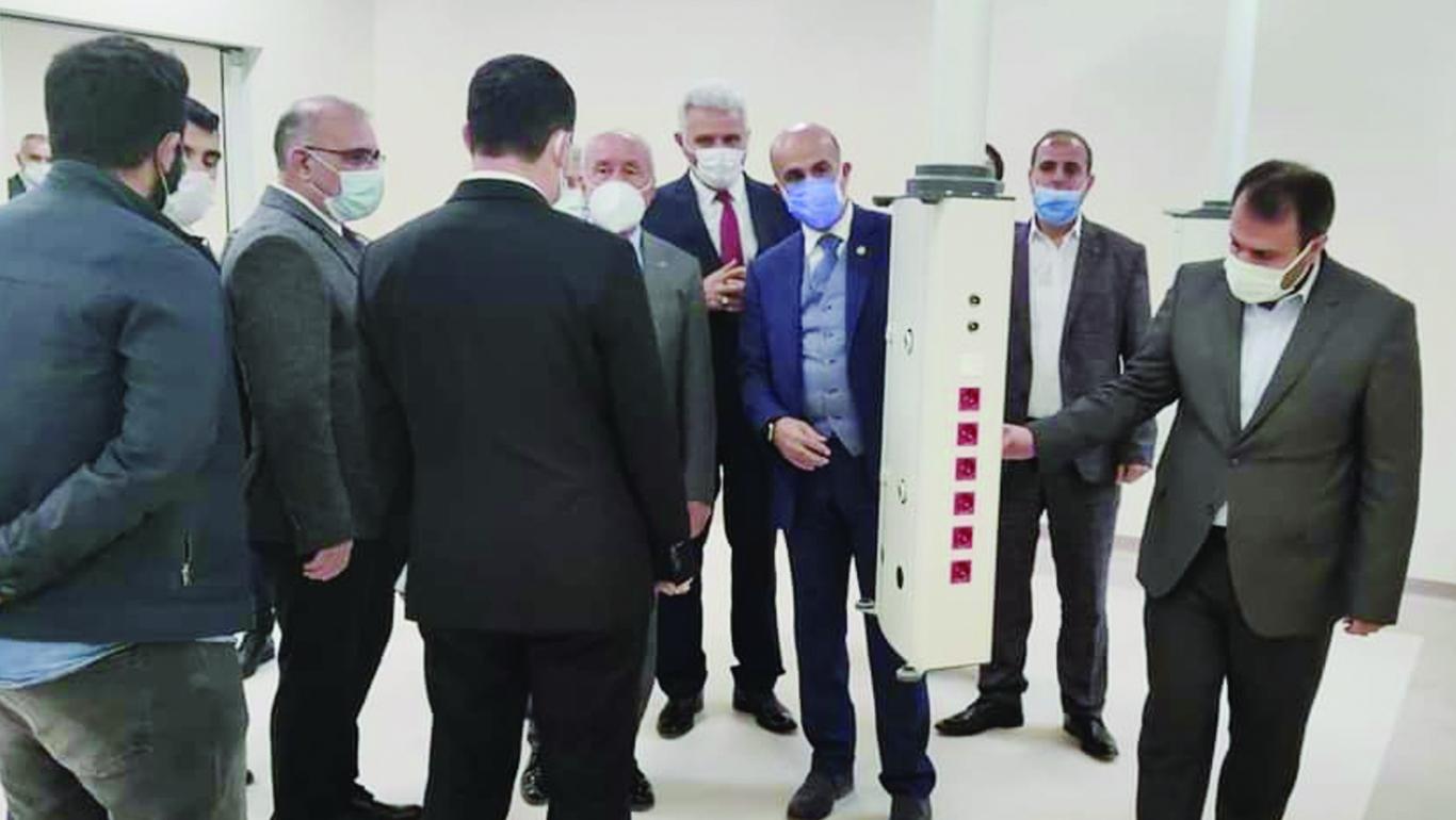 Sason Devlet Hastanesi Hizmete Giriyor