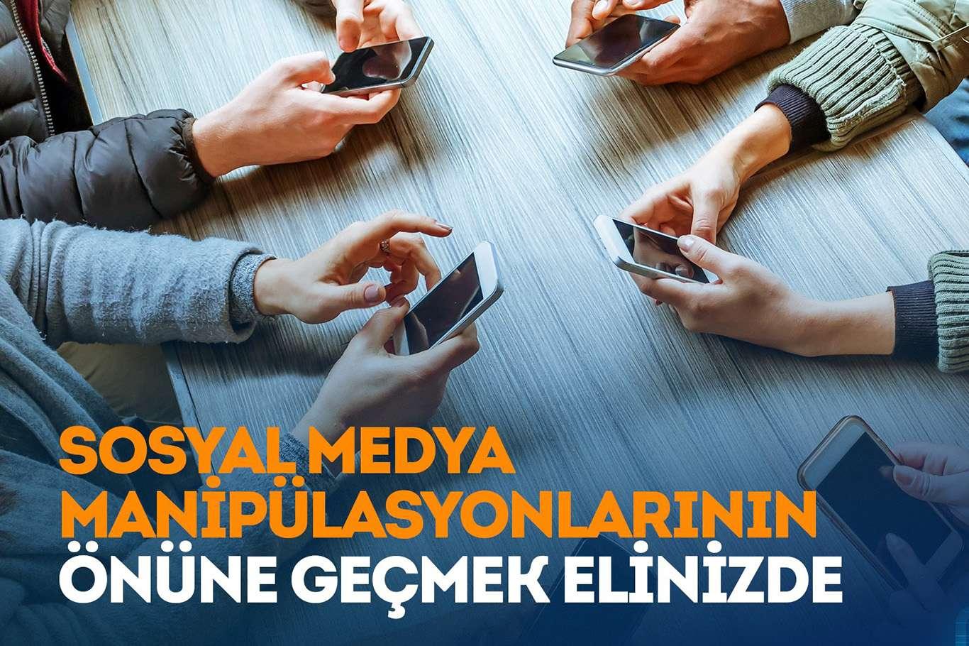 SOSYAL MEDYA HESAPLARINA DİKKAT