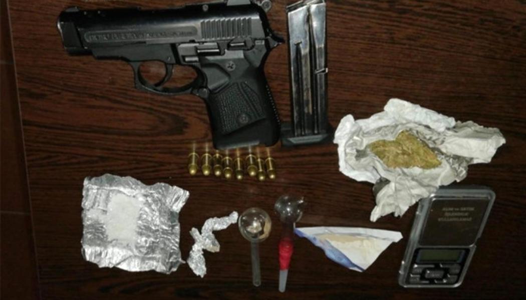 Silah ve Uyuşturucuyla Yakalandılar