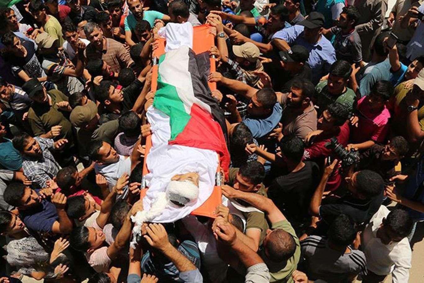 Siyonist işgal rejiminin Gazze