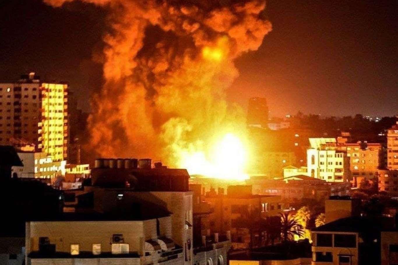 Siyonist işgal rejiminden Gazze