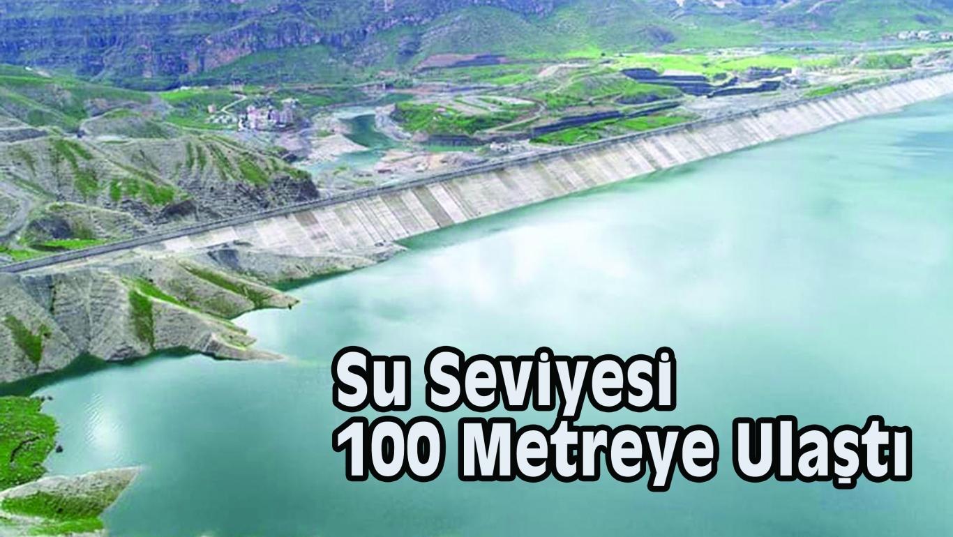 Su Seviyesi 100 Metreye Ulaştı