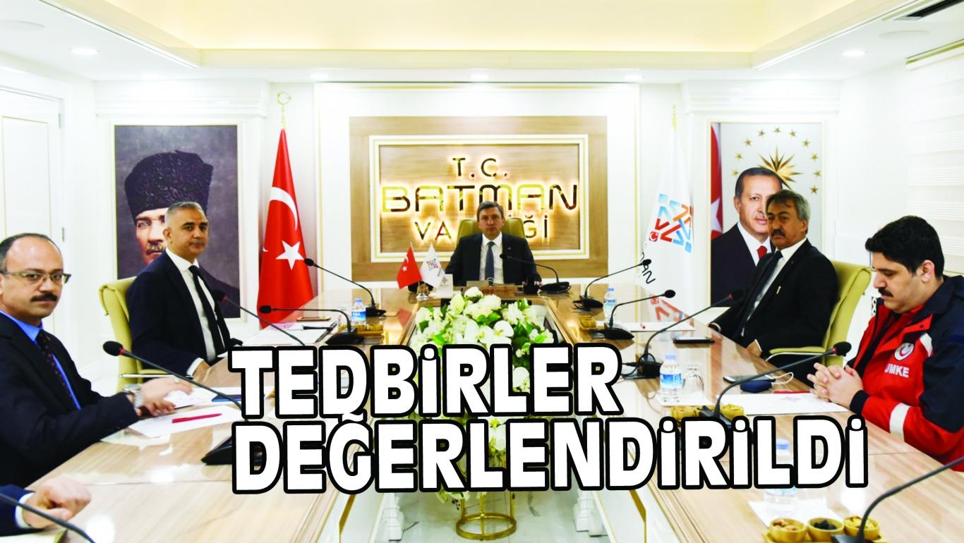 TEDBiRLER DEĞERLENDiRiLDi