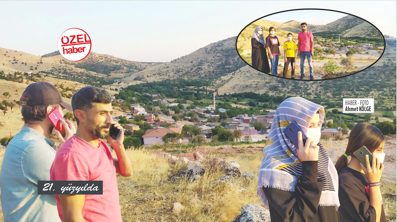 Telefonla Konuşmak İçin Tepelere Çıkıyorlar