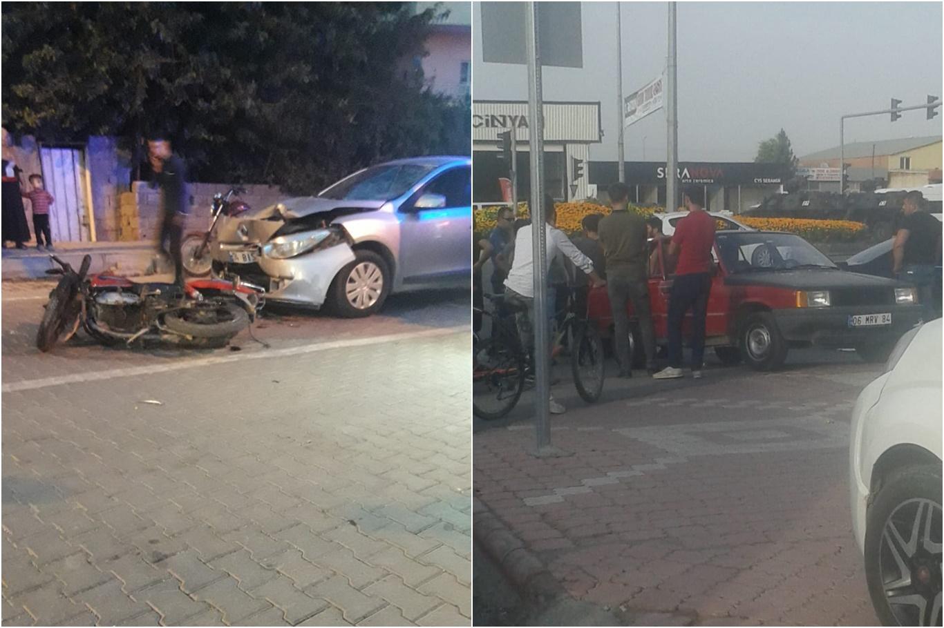 Trafik Kazası: Biri Ağır 3 Yaralı