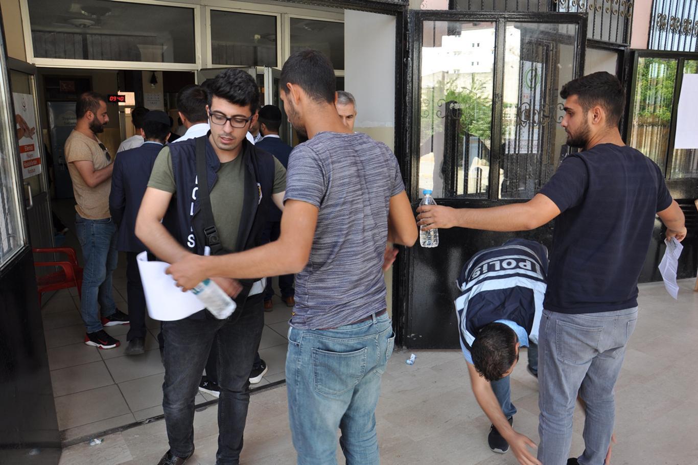 Üniversite Adayları Ter Döktü