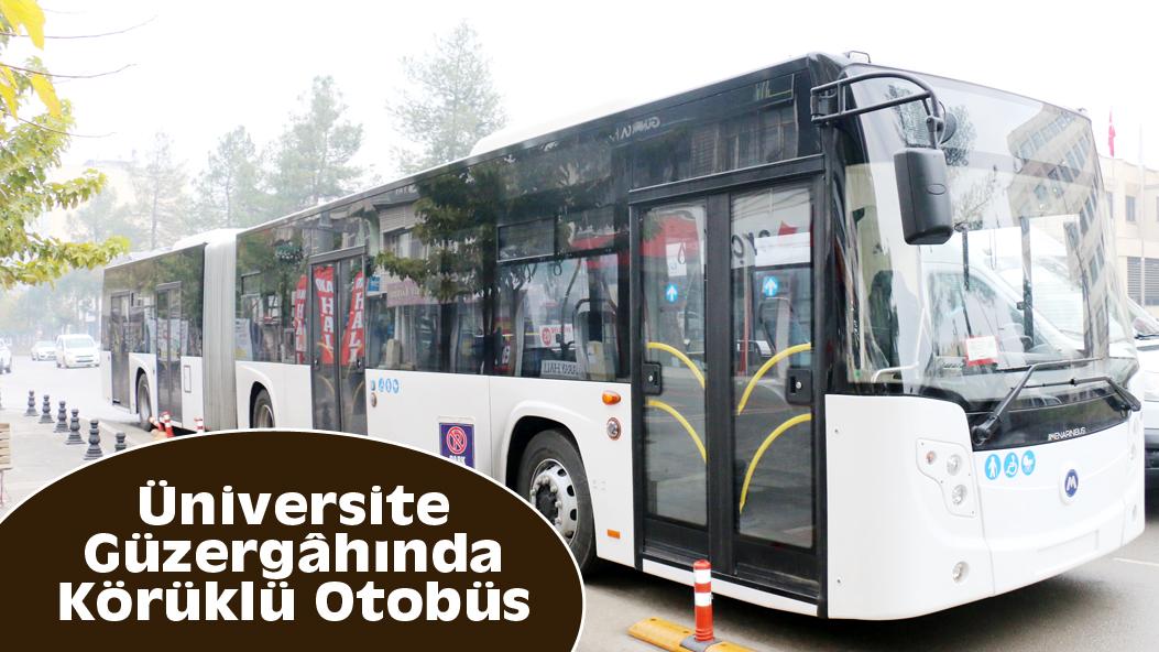 Üniversite Güzergâhında Körüklü Otobüs