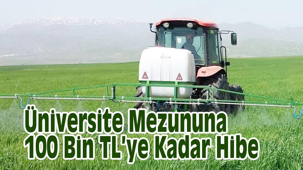Üniversite Mezununa 100 Bin TL'ye Kadar Hibe