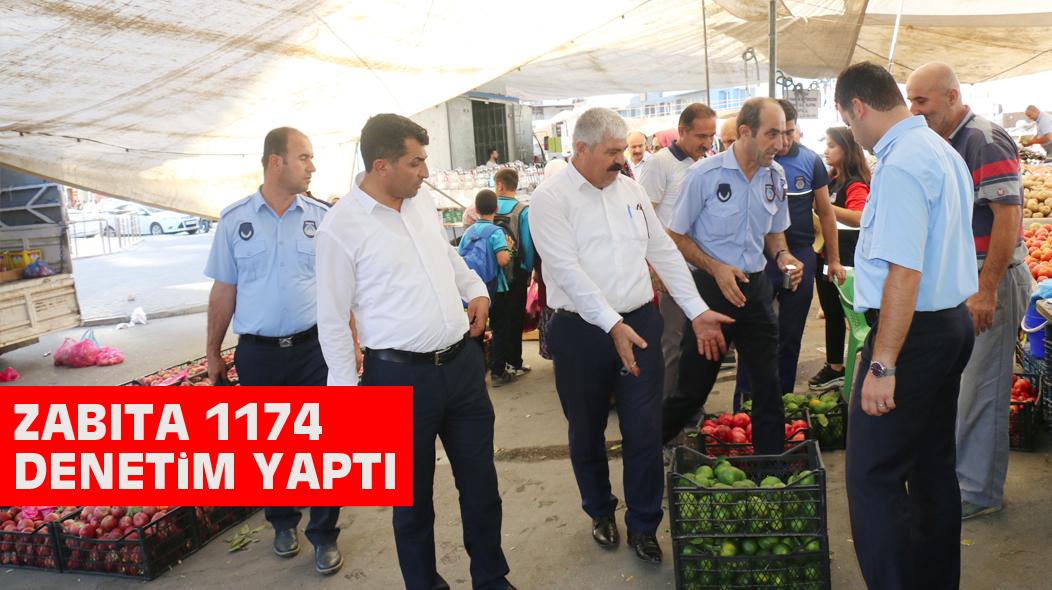 ZABITA 1174 DENETiM YAPTI