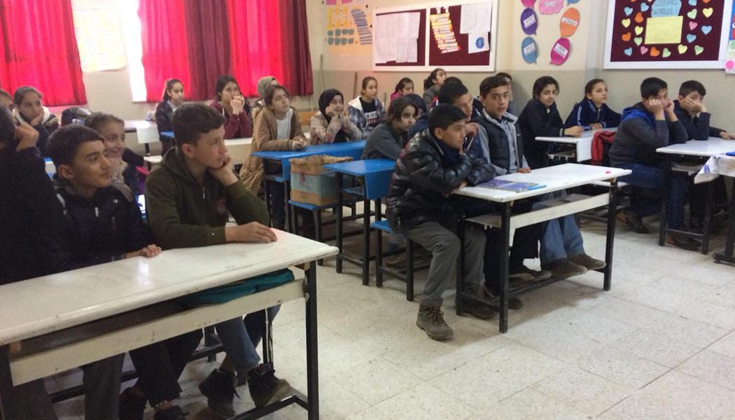 Gençlere Geri Dönüşüm Eğitimi