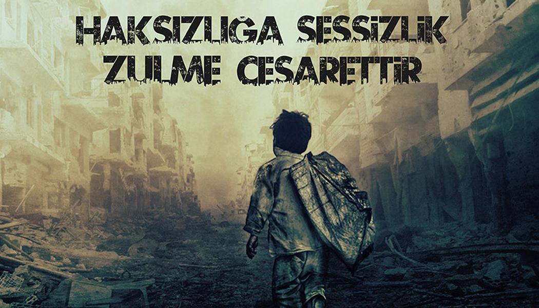 """""""Haksızlığa Sessizlik Zulme Cesarettir"""""""