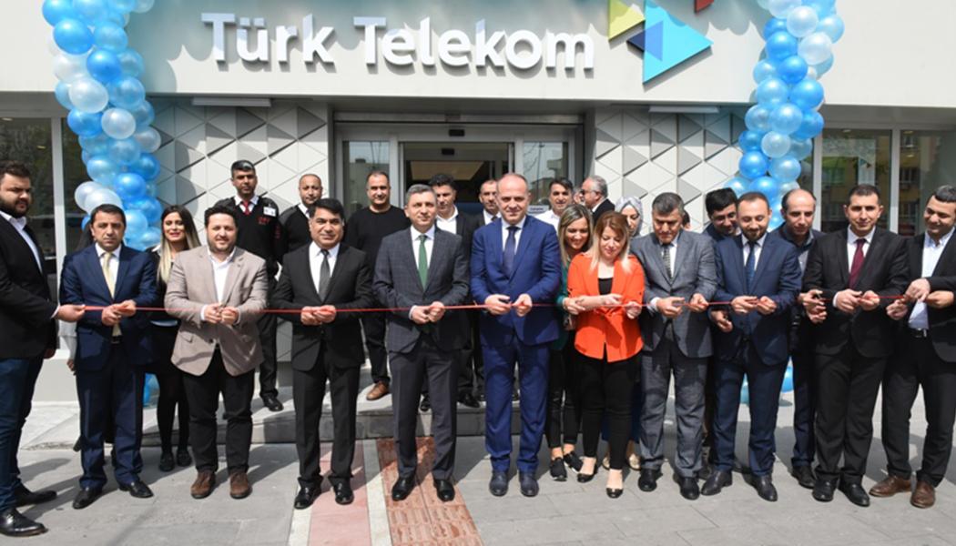 Türk Telekom Satış Ofisi Açıldı