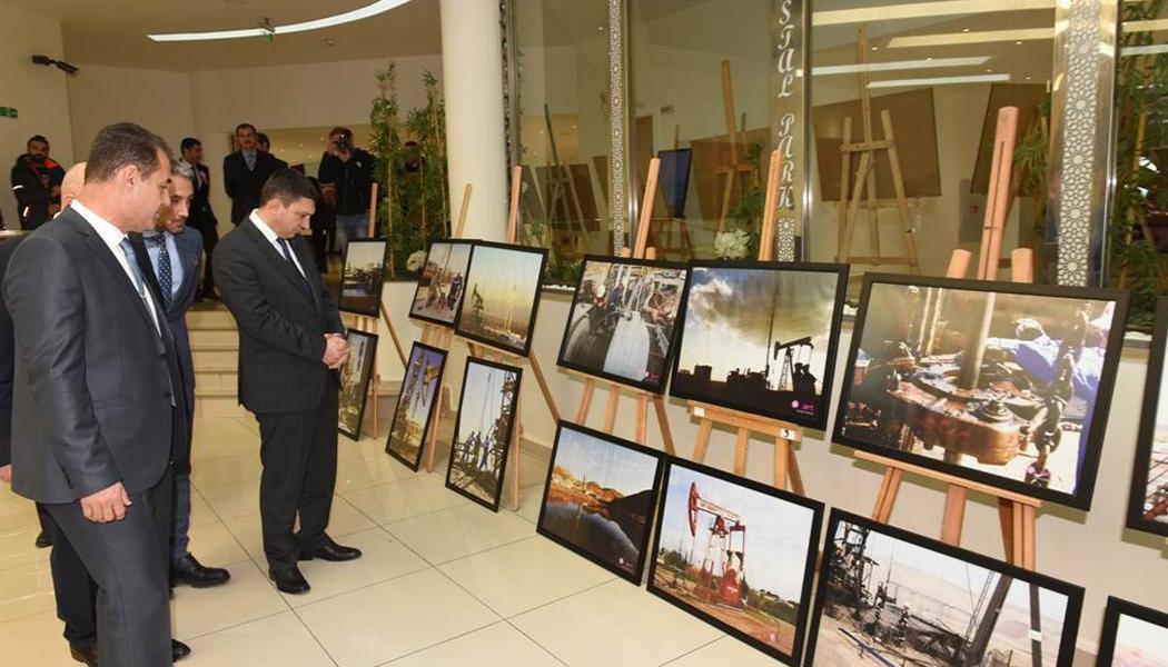 """""""Petrolün Büyüsü"""" Fotoğraflarla Sergilendi"""