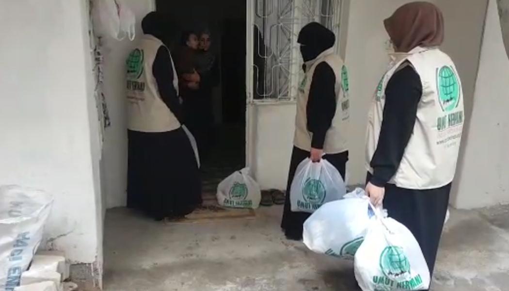 Suriyeli Ailelere Yardım Eli